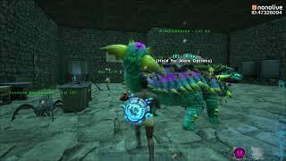 ARK Genesis Online #1 - Thử Thách Tay Không Trộm Trứng Rồng Magmasaurus Cùng Migutan =))