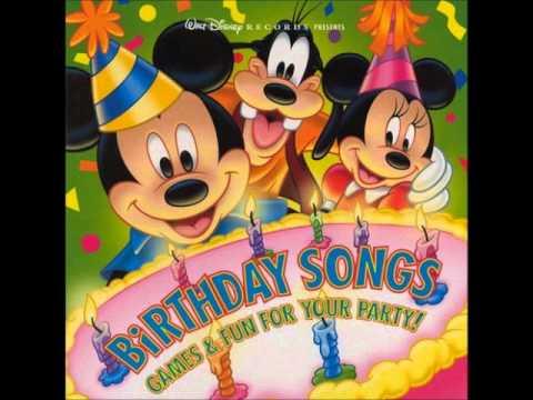 Disney - Happy, Happy Birthday To You