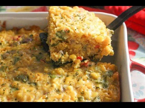 Tex Mex Corn Casserole - I Heart Recipes