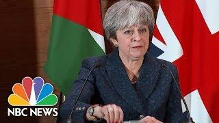 British Prime Minister Theresa May Condemns President Donald Trump's Retweet | NBC News
