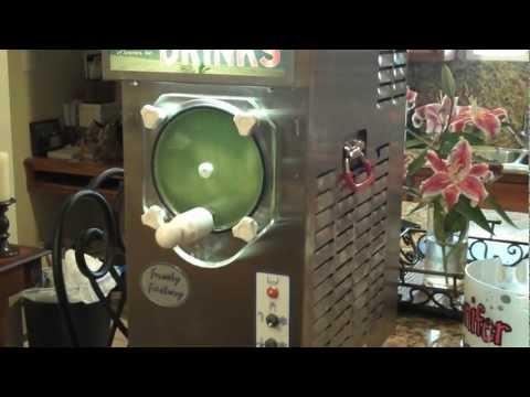 Frosty Factory Daquiris Machine - Mixing Margaritas