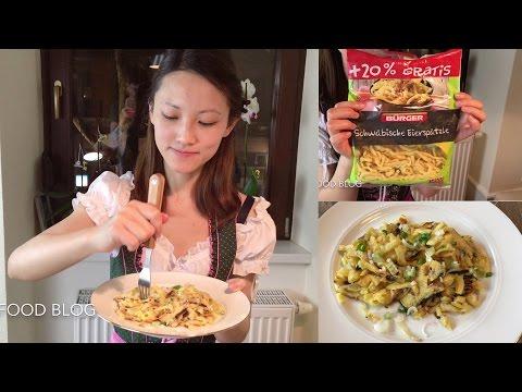 German cheese noodle Käsespätzle German recipe #2 德国芝士面条