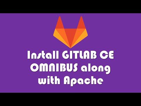 Gitlab CE Omnibus along with Apache ( Ubuntu 14.04 )