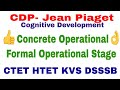 Download CDP- Jean Piaget's Cognitive Development ! Concrete Operational & Formal Operational Stage MP3,3GP,MP4