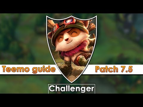 iPav's Teemo 7.5Guide (Runes, Masteries, Items)