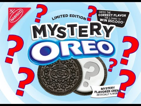 Mystery Oreos! - WHAT ARE WE EATING??- The Wolfe pit