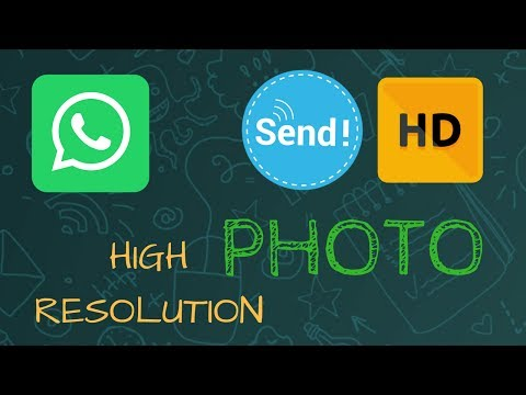 How To send high quality images on whatsapp- Send whatsapp photos without compressing