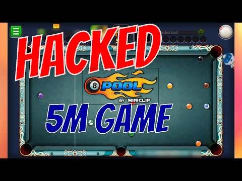 8 Ball Pool - 5M Paris Chateau HACK GamePlay Easy Winning