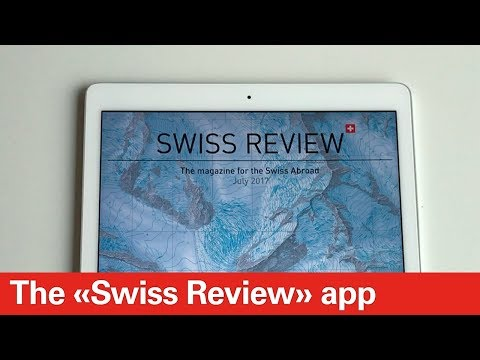 The «Swiss Review» app for your smartphone or tablet