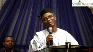 El-rufai Bares It All, Exposes His Intrigues with Pastor Tunde Bakare