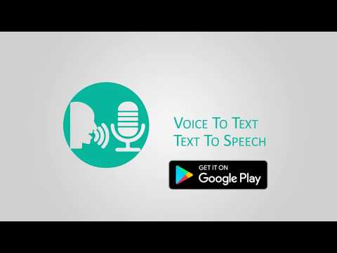 Voice to Text - Text to Speech - android app