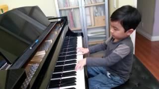 Mozart Concerto No. 8 by 5-Year-Old Evan Le