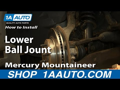 How To Install Replace Lower Ball Jount 1997-2010 Mercury Mountaineer