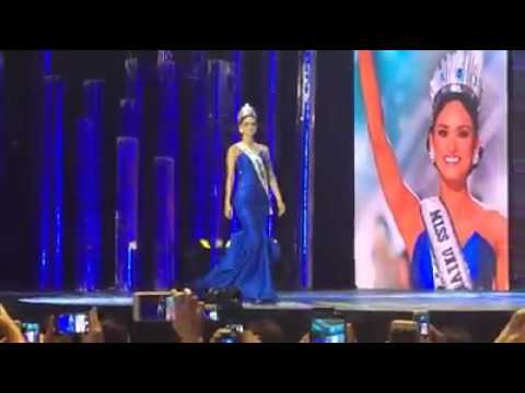 Here's Miss Universe 2015 Pia Wurtzbach final walk that we missed