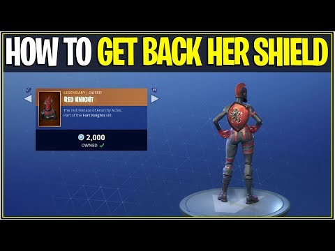 *NEW* Fortnite: How to get back Red Knights Backbling/Shield