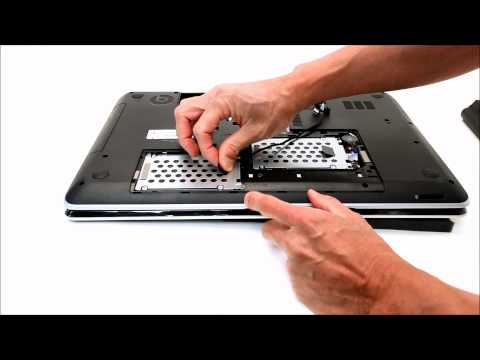 Add a 2nd Hard Drive or SSD to a HP Pavilion M7 laptop