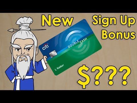 Citi Double Cash Now Has SIGN UP BONUS!