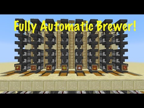 Fully Automatic Brewer: Tutorial [Minecraft 1.12]