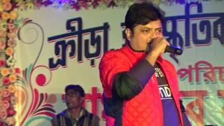 BISWANATH BASU LIVE Singing A Song | Shishe Ki Umar Pyar | On Our 2K17 Saraswati Puja's Program