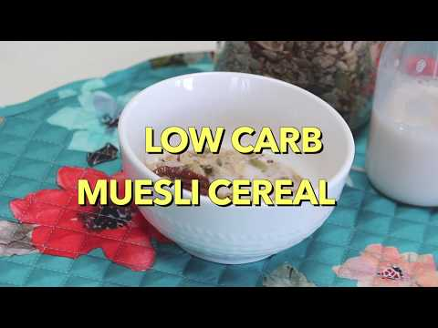 Low Carb Gluten Free Muesli Cereal Recipe
