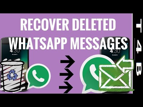 how to recover whatsapp deleted messages, restore retrieve WhatsApp Messages chat | Whatsapp Tricks