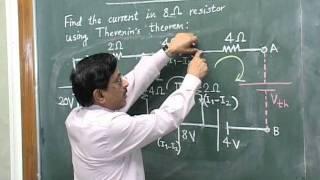 Thevenin's Theorem - by Prof. Dr. C. B. Bangal