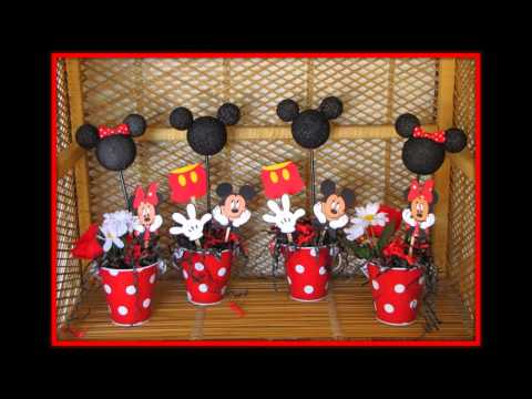 Mickey mouse baby shower decorations ideas