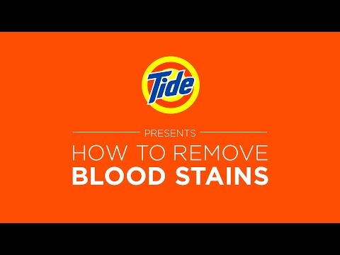 Tide Liquid Detergent   Laundry Tips: How to Remove Blood Stains