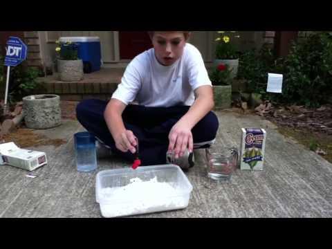 How to make quicksand