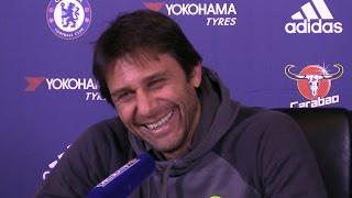 Antonio Conte Full Pre-Match Press Conference - Chelsea v Stoke