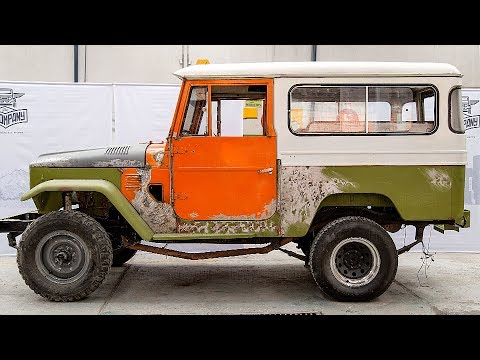 1974 Toyota Land Cruiser FJ43 Restoration Project