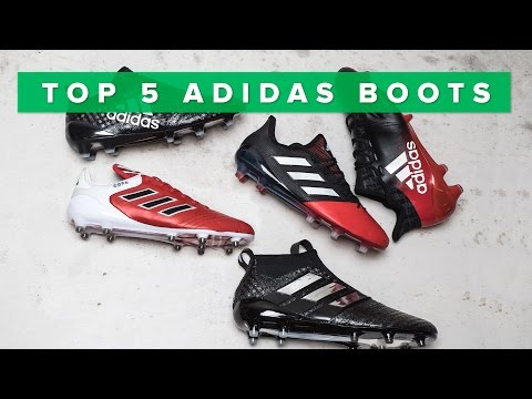Top 5 BEST adidas boots 2017 | w/Purecontrol, Purechaos, Copa 17.1 and X16