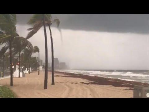 Tornado warnings in south Florida