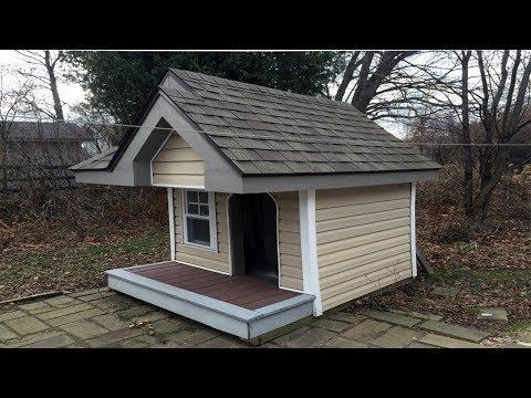 Dog house plans ideas on Pinterest