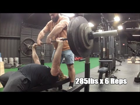 OHP/Squat/Bench/Deadlift PR Training Highlights with Voice Over