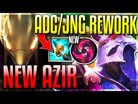 BIG ADC/JUNGLE REWORK! New Items & Keystone! Azir Mini-Rework! New 8.10 Changes - League of Legends