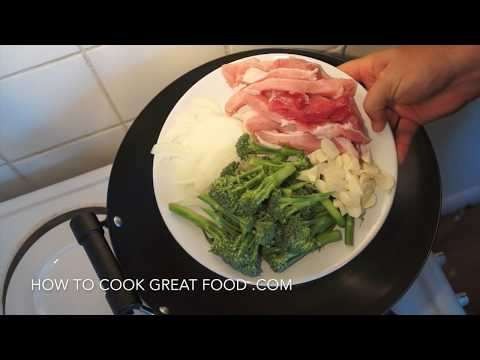 Chinese Pork & Broccoli Stir Fry Recipe - Asian Wok