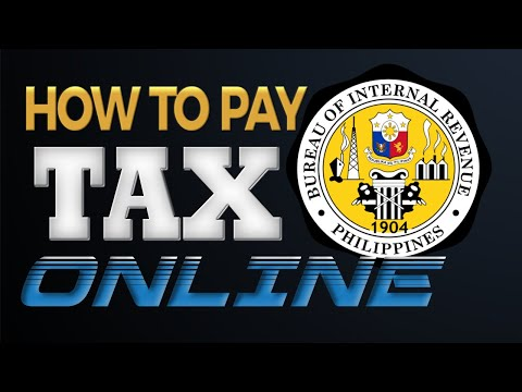 Pay Your Taxes Online - BIR Tax Payment