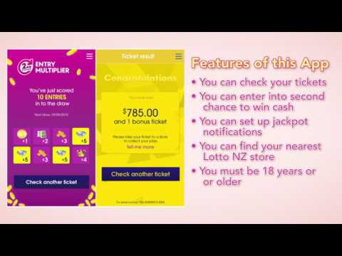 How to Check NZ Lotto Tickets on your Mobile