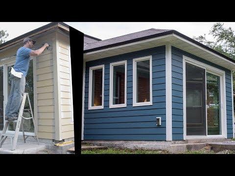 HardiePlank Siding, Installing Fiber Cement Planks on Exterior Walls Vid #10