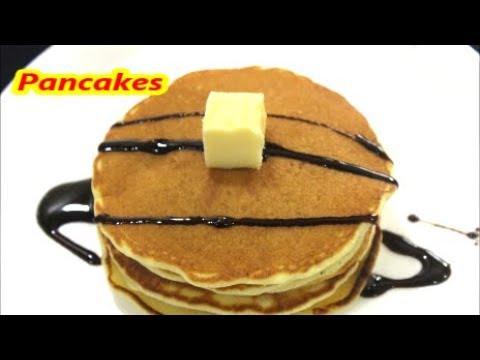 बनाइये बच्चो के लिए स्वादिष्ट और  मनपसंद नाश्ता /perfect fluffy pancakes/recipe in hindi