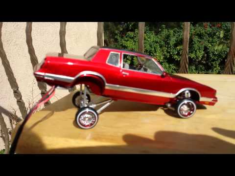 86 Chevy Monte Carlo Ls lowrider model car hopper