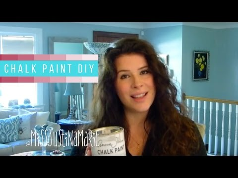 DIY Chalk Paint Your Kitchen Cabinets