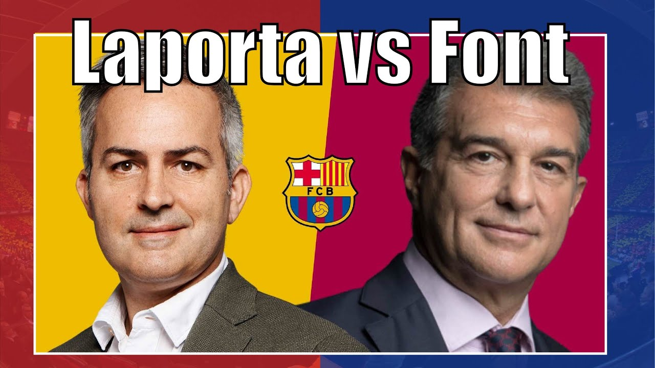 Laporta vs Victor Font: Who is who in FC Barcelona Election