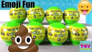 Emoji Squishy Blind Bag Emojiez Fun 2 Play Toy Review | PSToyReviews