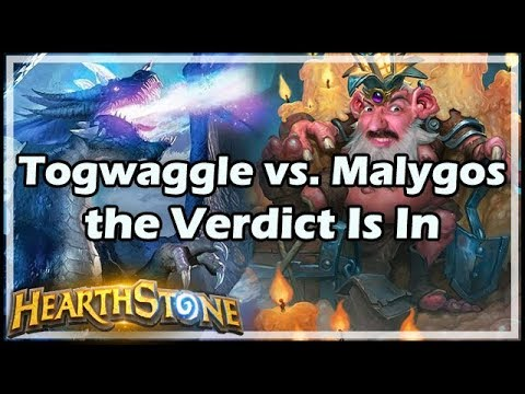 [Hearthstone] Togwaggle vs. Malygos - the Verdict Is In