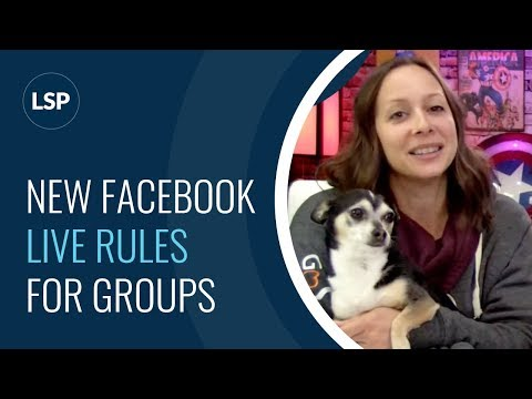 New FB LIVE Rules for Groups! How does GDPR affect you?