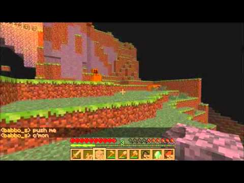 Minecraft : Flying Octopus glitch