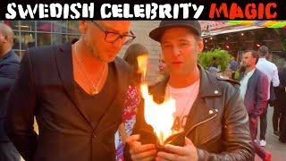 Celebrity magic in Sweden🔥🔥-Julien Magic