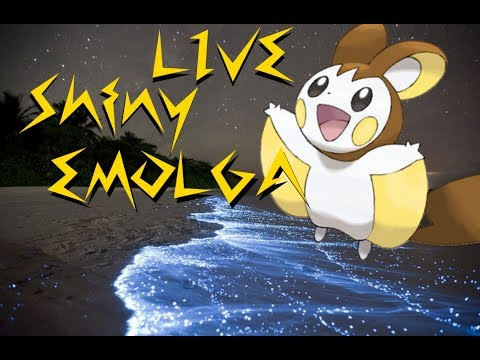 [LIVE] Shiny Emolga in Pokemon X after 4 hours of game play [WSHC#7]